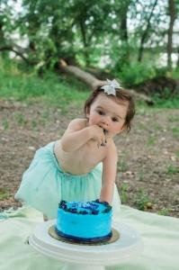 Cake Smash Photos   Lafayette, IN Photographer   Luminant Photography