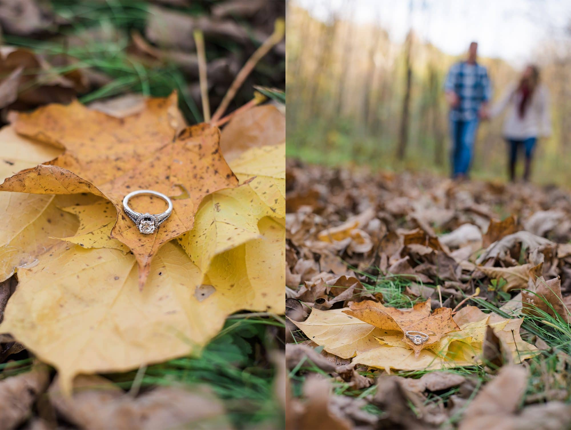 Lafayette, Indiana Engagement Photographer | Indiana Fall Engagement Photos | Luminant Photography | Cassea Anker and Bryan Coley | Lafayette, Indiana Photographer | Victoria Rayburn