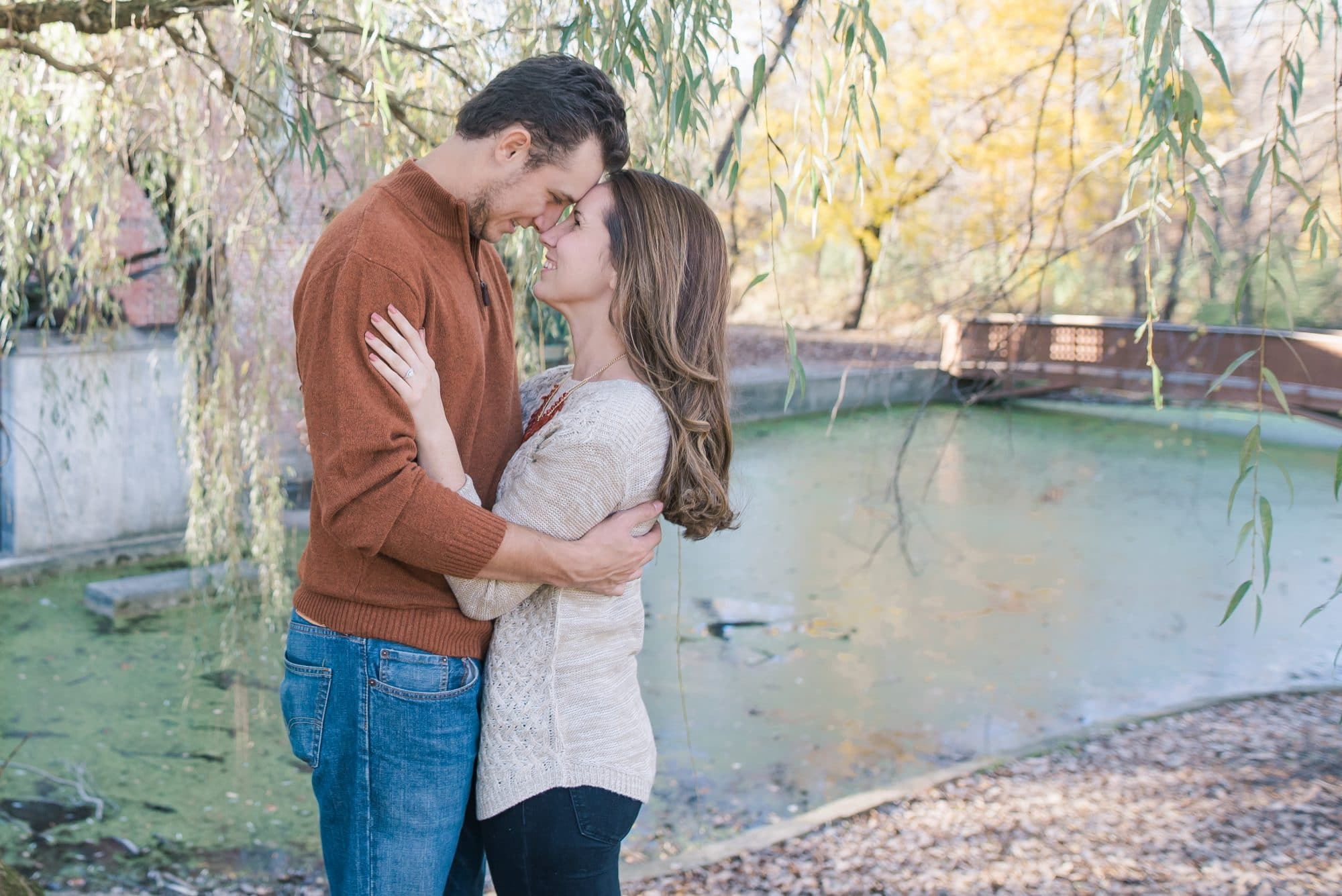 Fall Engagement Session in Hobart, Indiana | Luminant Photography | Declan and Sarah McCarron | Engagement Photos | Lafayette, Indiana Photographer