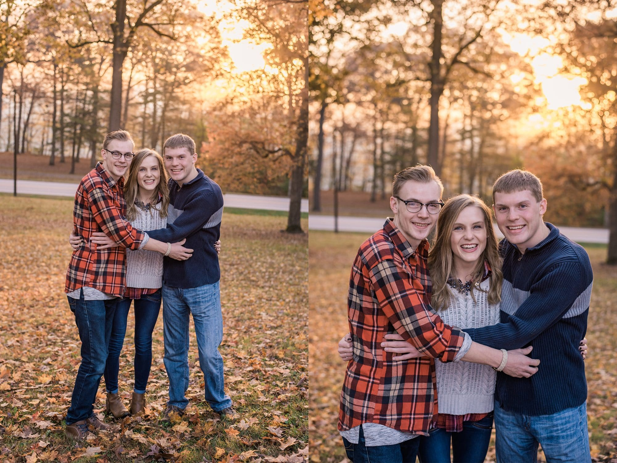 Christmas Surprise for Mom | Lafayette Indiana Photographer | Luminant Photography | Victoria Rayburn | Megan Atwood | Family Photos